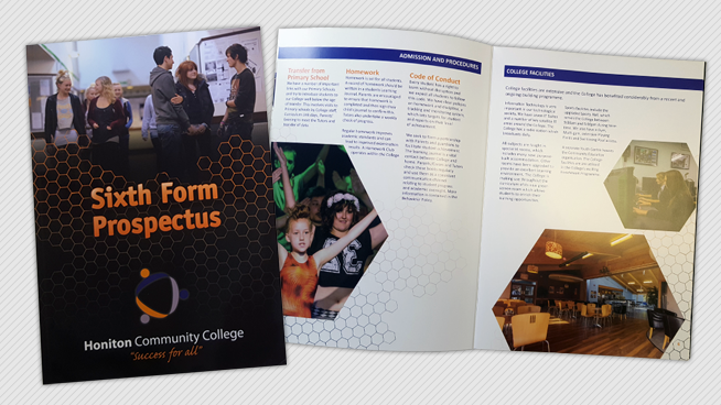 Design agency for Honiton Community College in Devon
