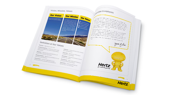 Digital agency for international car rental firm Hertz