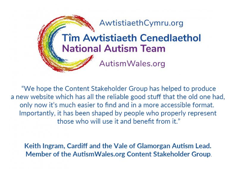 autism wales website developers